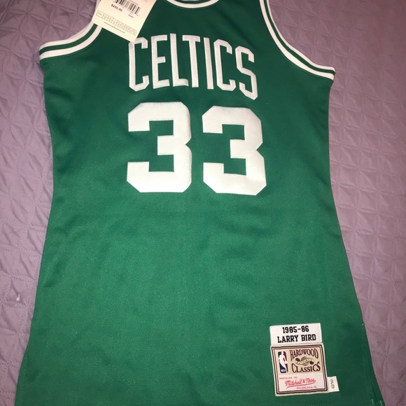 the best attitude fbe5a 0a7cd NWT AUTHENTIC LARRY BIRD CELTICS JERSEY NWT